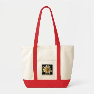 Live life in full bloom impulse tote bag