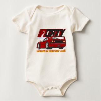 LIVE_LIFE_IN_THE_FAST_LANE: forty Baby Bodysuit