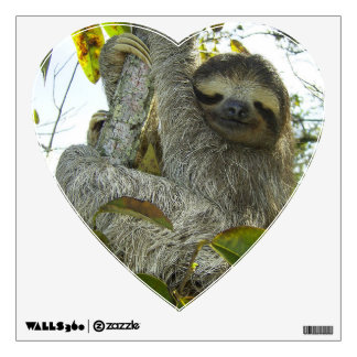 Live Life Like a Sloth Wall Sticker