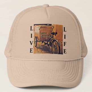 LIVE LIFE TRUCKERS HAT
