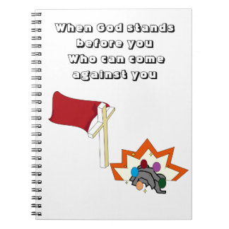 Live Life with God in front of you Spiral Notebook