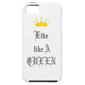 Live Like A Queen- Art_Ectasy iPhone 5 Cover