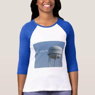 Live Long in Prosper (TX) Ladies T-shirt
