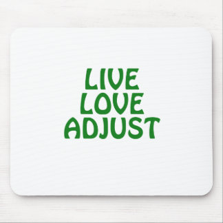 Live Love Adjust Mouse Pad