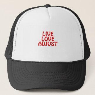 Live Love Adjust Trucker Hat