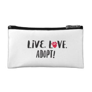 Live. Love. Adopt Purse