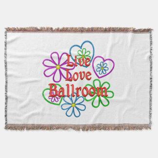 Live Love Ballroom Throw