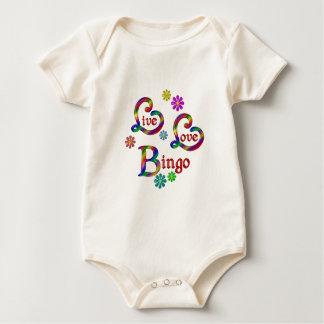 Live Love Bingo Baby Bodysuit