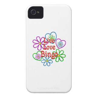 Live Love Bingo iPhone 4 Covers