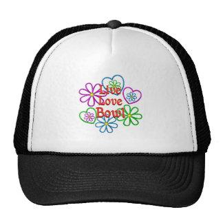 Live Love Bowl Trucker Hat