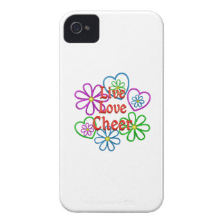 Live Love Cheer Case-Mate iPhone 4 Cases
