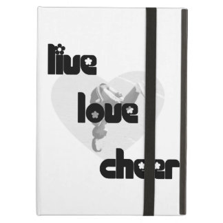 Live Love Cheer iPad Cases