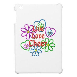 Live Love Cheer iPad Mini Cover