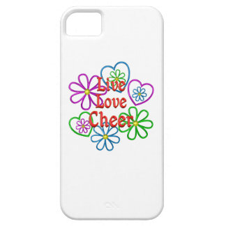 Live Love Cheer iPhone 5 Cases