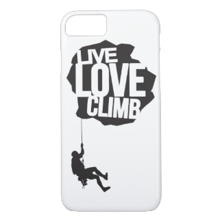 Live Love Climb | Climbing iPhone 7 Case