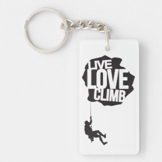 Live Love Climb | Climbing Keychain