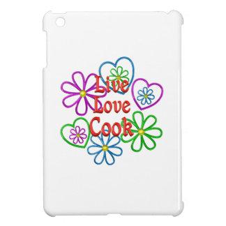 Live Love Cook iPad Mini Covers
