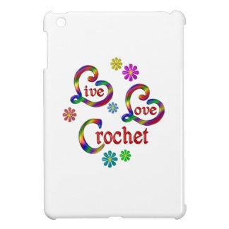 Live Love Crochet Case For The iPad Mini