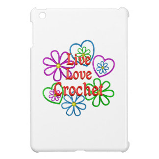 Live Love Crochet Cover For The iPad Mini