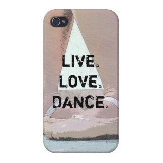 Live Love Dance Ballet Iphone Case iPhone 4 Cases