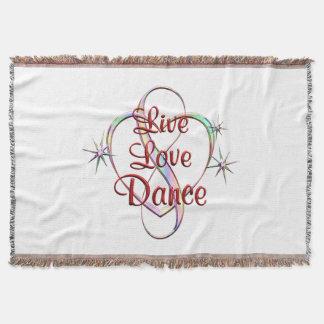 Live Love Dance Throw