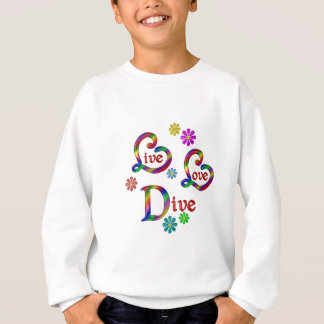 Live Love Dive Sweatshirt