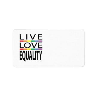 Live Love Equality