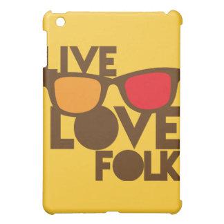 Live LOVE FOLK music iPad Mini Cover