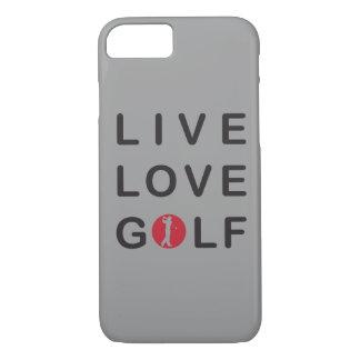Live love golf I phone 6 case