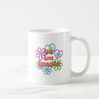 Live Love Gymnastics Coffee Mug