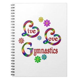 Live Love Gymnastics Notebook