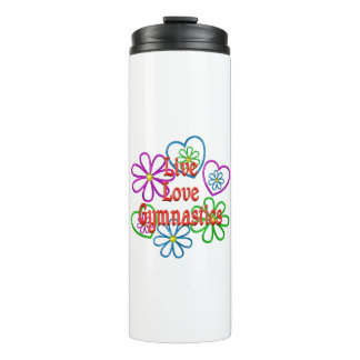 Live Love Gymnastics Thermal Tumbler