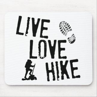 Live, Love, Hike Mouse Pad