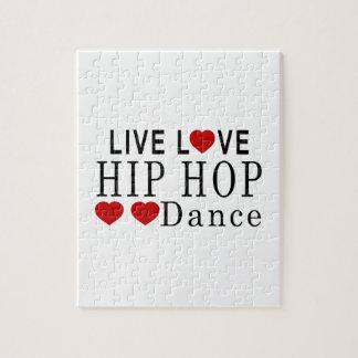 LIVE LOVE HIP HOP DANCE JIGSAW PUZZLE