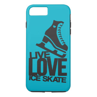 Live Love Ice Skate | Figure skating iPhone 7 Plus Case