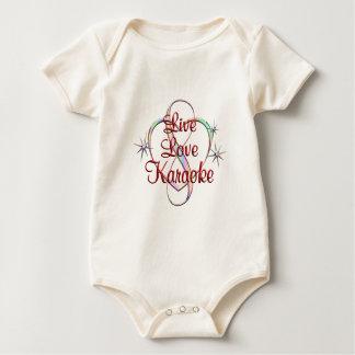 Live Love Karaoke Baby Bodysuit