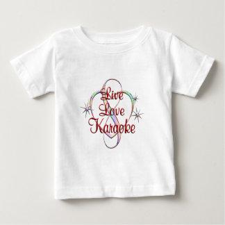 Live Love Karaoke Baby T-Shirt