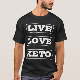 Live Love Keto Diet T-Shirt