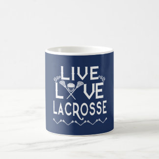 LIVE - LOVE - LACROSSE COFFEE MUG
