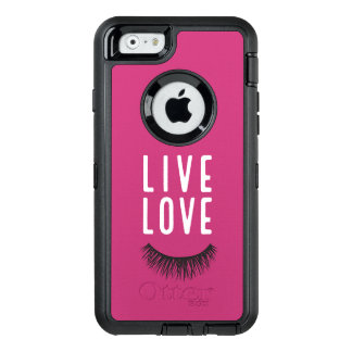 Live Love Lash OtterBox Defender iPhone Case