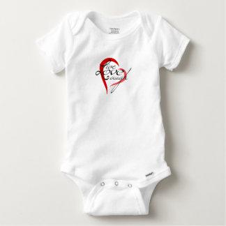 Live Love Laugh - Baby Cotton Bodysuit