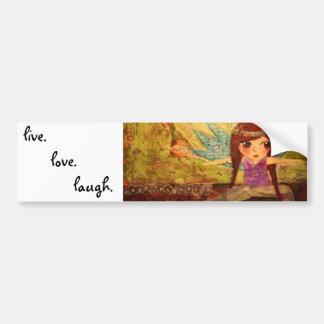 live. love. laugh bumper sticker    ...