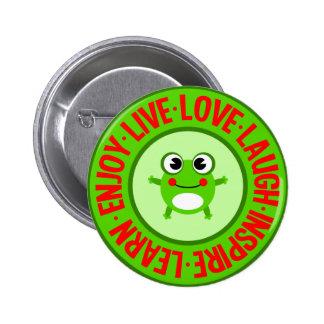LIVE LOVE LAUGH ... button