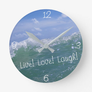 live love laugh clock