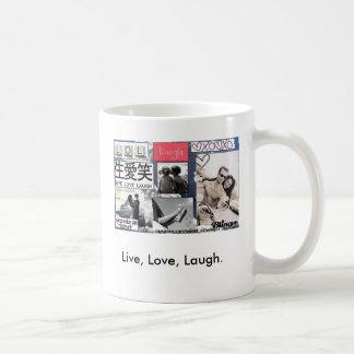 Live, Love, Laugh. Coffee Mug