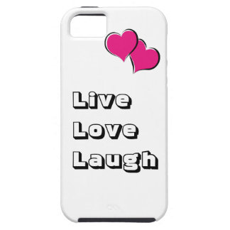"""Live,Love,Laugh"" iPhone 5 Cases"
