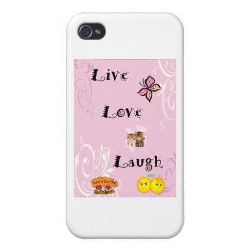 Live Love Laugh iPhone 4 Covers