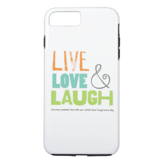 live love laugh phone case