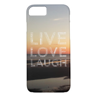 Live, Love, Laugh Phone Case - iPhone 7