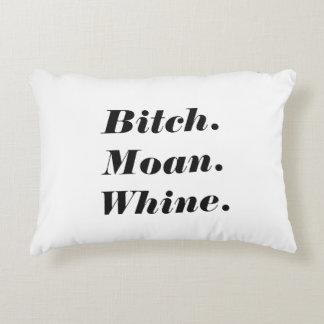Live Love Laugh Spoof Accent Pillow
